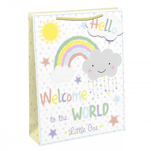 Welcome to the World Large Gift Bag
