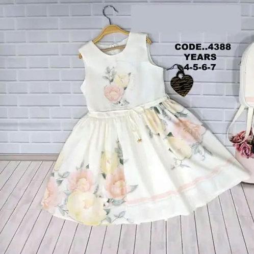 Lemon Sleeveless Traditional Dress
