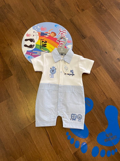 Little fella summer romper