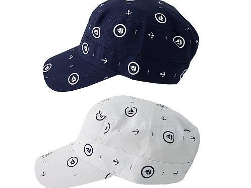 Nautical Peaked Hat