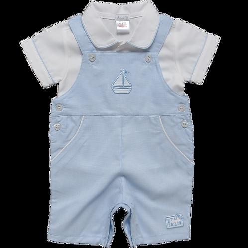 Amore 'Little Sailor' Dungaree Set