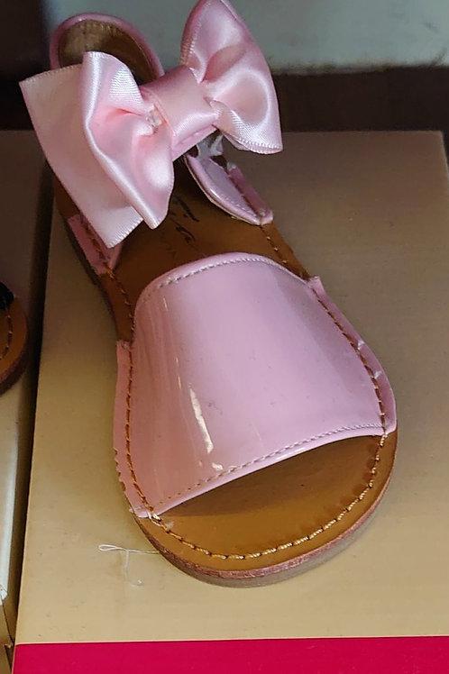 Tia London Pink Patent Sandal