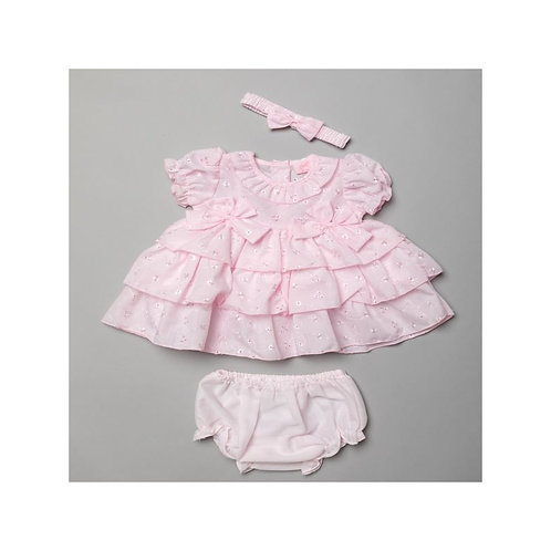 RockABye Tiered  Frill Dress & Knickers