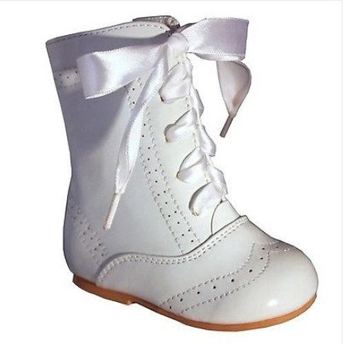 Sevva Isabelle White Boots