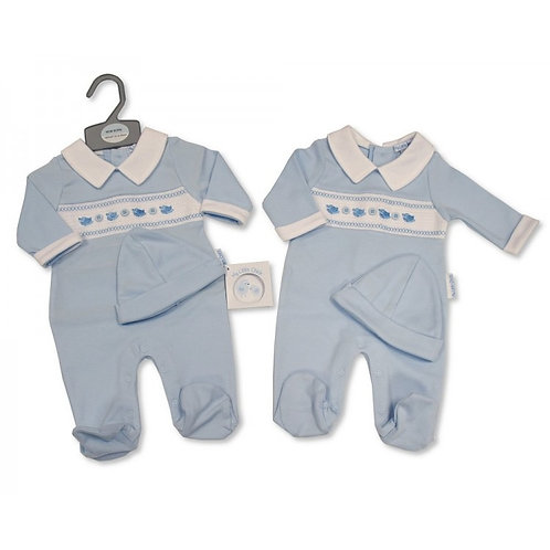 My little chic sleepsuit and hat set