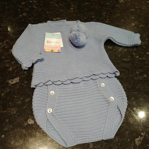 Juliana 2pce Knitted Jam Pants Set