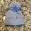 Thumbnail: Little Nosh Boys blue/white winter hats