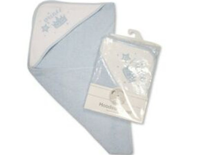 Snuggle Baby 'Prince ' Hooded Towel