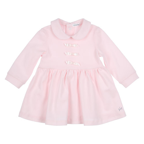 GYMP Pink Collared Dress
