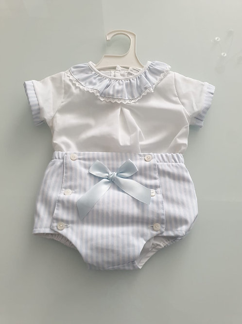 Little Nosh Blouse and jam pants set ( small fitting)