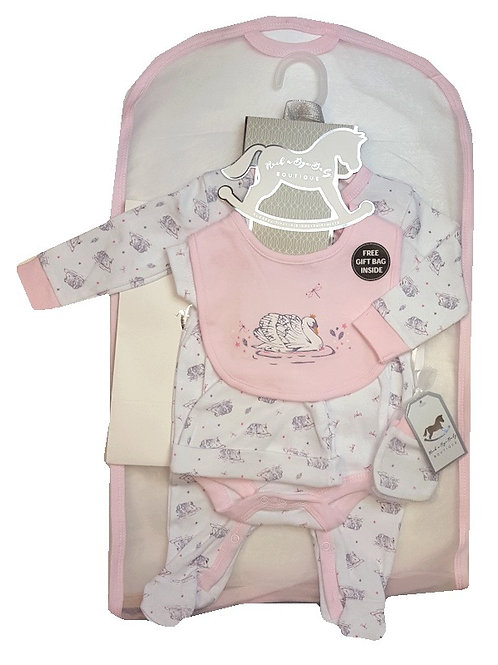 Rock A Bye 5 piece set with gift bag