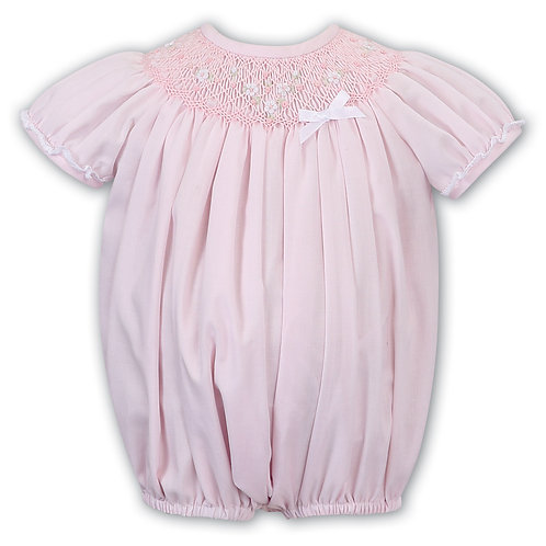Sarah Louise Traditional Pink Romper