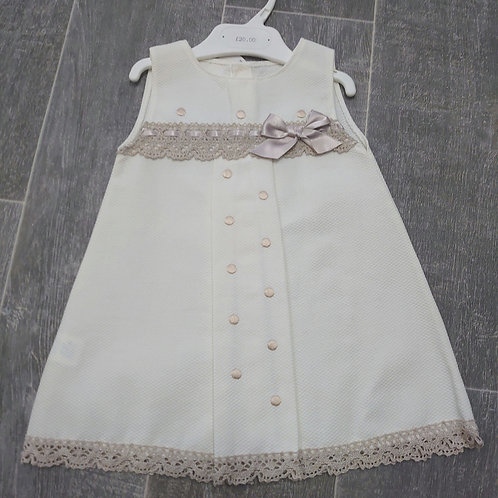VB Cream Spanish Dress