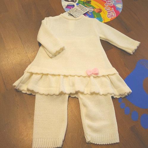 PEX Charley White Knitted Set
