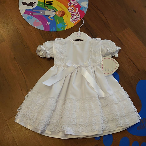 Kinder Traditional White Dress
