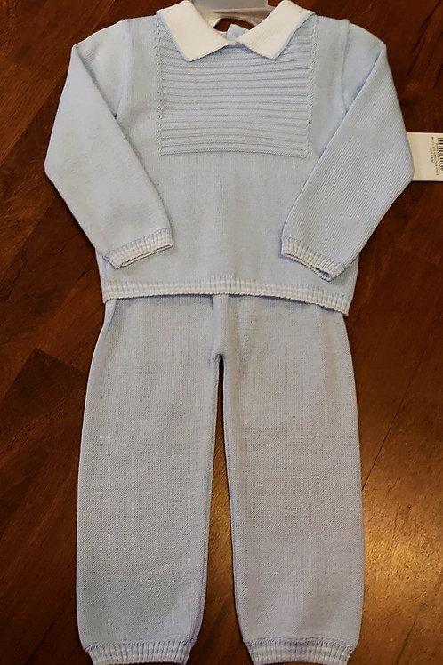 Pex Fine Knit Trouser Set
