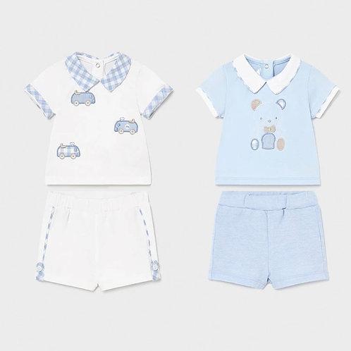 Mayoral 2 pack shorts set 1642