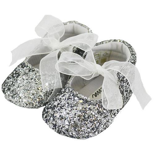 Sevva Zoe Silver Pram Shoes