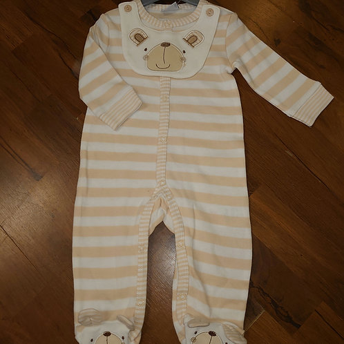 RockABye Bear Stripe Sleepsuit