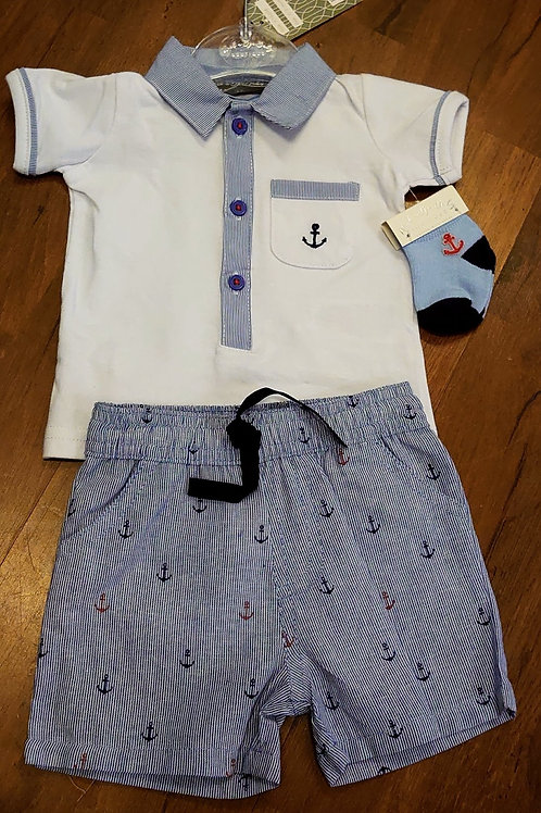 Rock-A-Bye Anchor Short Set
