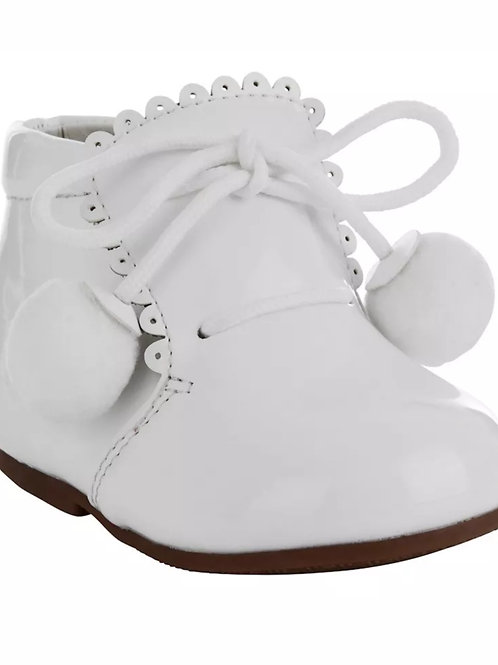 Tia London White 8499 Boots