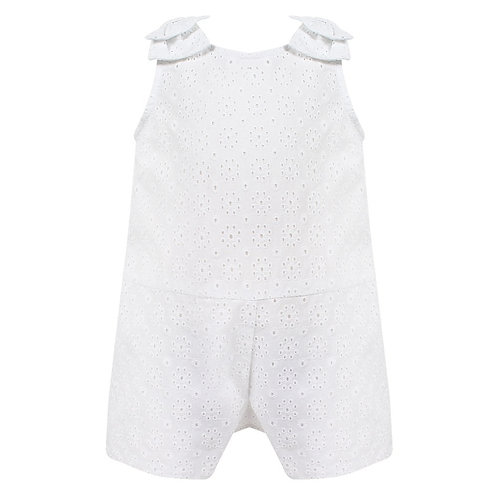 Sarah Louise Broderie Anglaise Playsuit