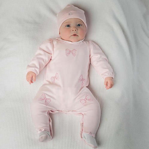 Emile et Rose Winter Babygrow & Hat