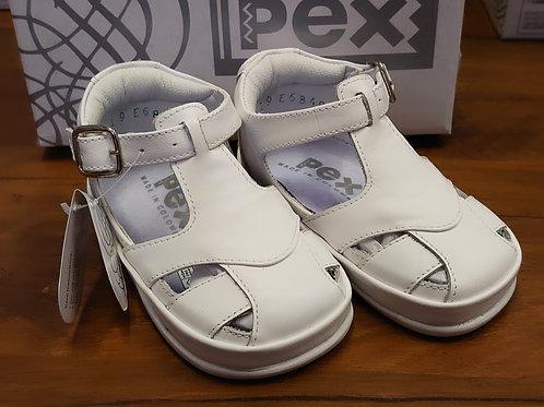 PEX Christobal White Sandal