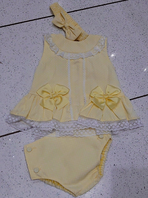 Pretty Originals Lemon Jam Pants Set