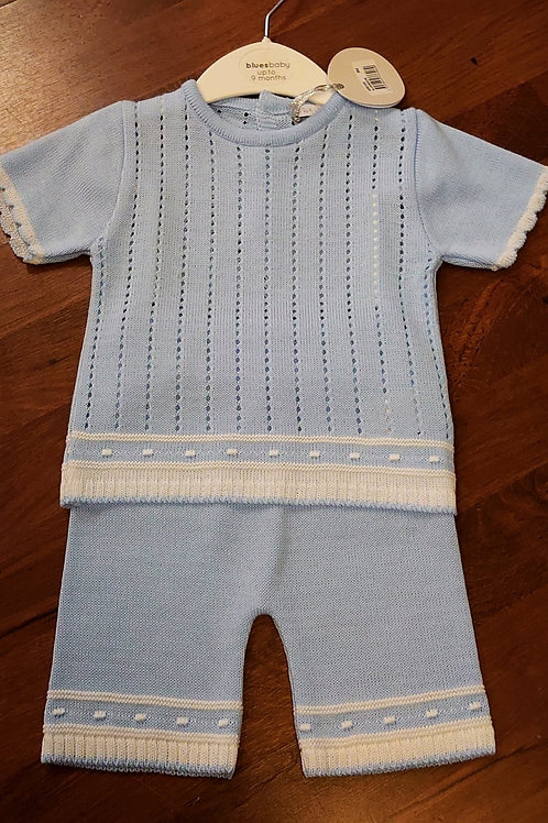 Bluesbaby Knitted Short Set