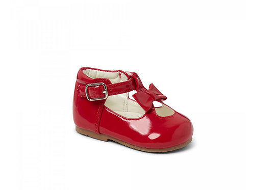 Sevva Patent Red Shoes