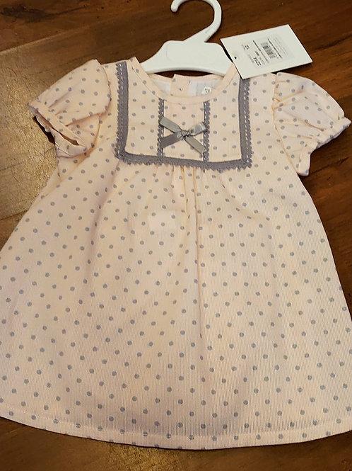 Alber Pink & Grey Dress