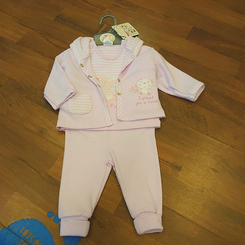 Just Too Cute 3pce Tracksuit