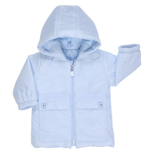 GYMP Pale Blue Winter Coat
