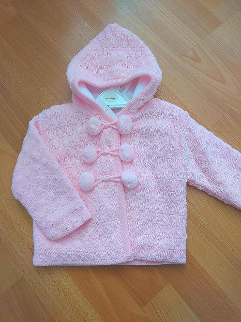 Little Nosh Pink Fleece Lined Jacket