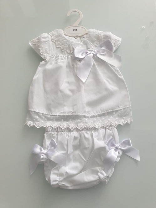 White summer set (small fitting)