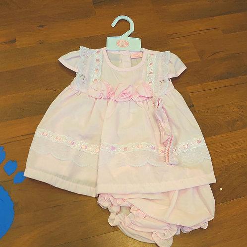 RockABye Baby Pink Dress & Knickers