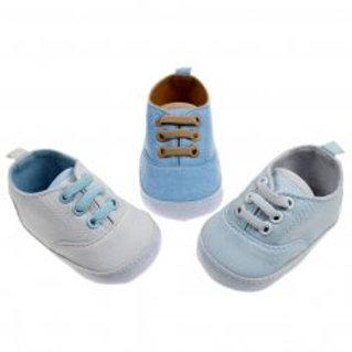 Soft Touch Canvas Trainer Infant Shoes