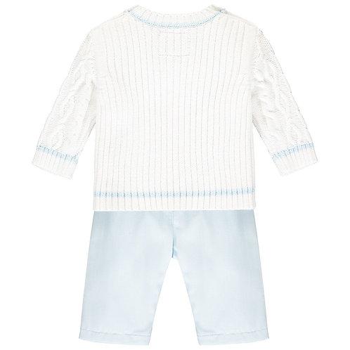 Emile et rose Trent knit jumper and trouser set