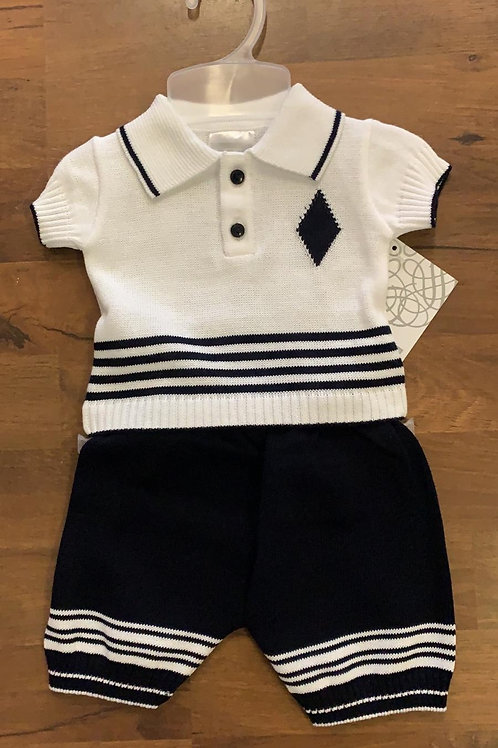 Pex boys knit 2 piece set
