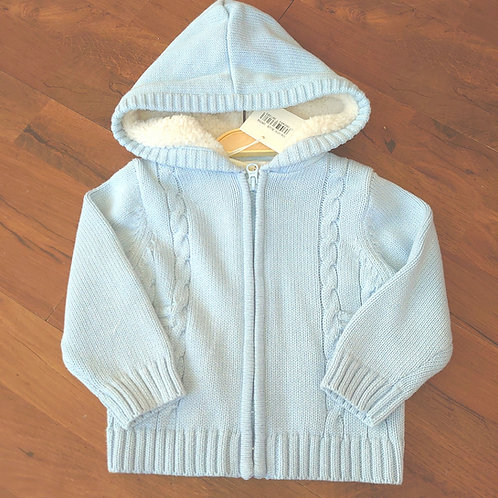 Mintini Knitted Hooded Jacket