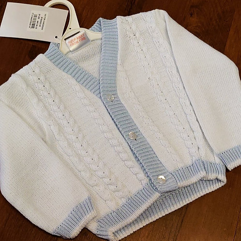 Pex Boys Cable Front Cardigan