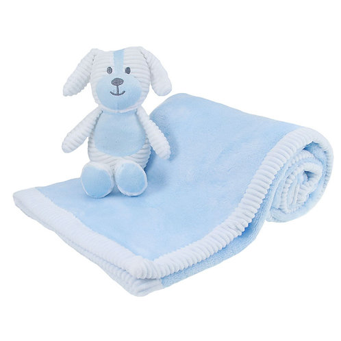Soft Touch Baby Wrap & Toy Set