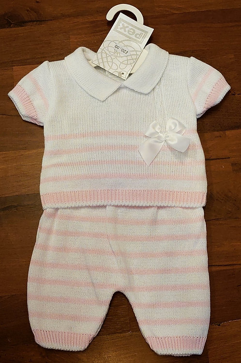 Pex Tess Knitted Short Set (very small fitting)