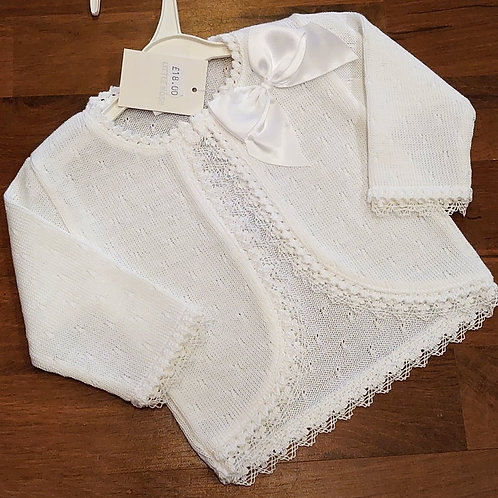Little Nosh Fine Knit Cardigan