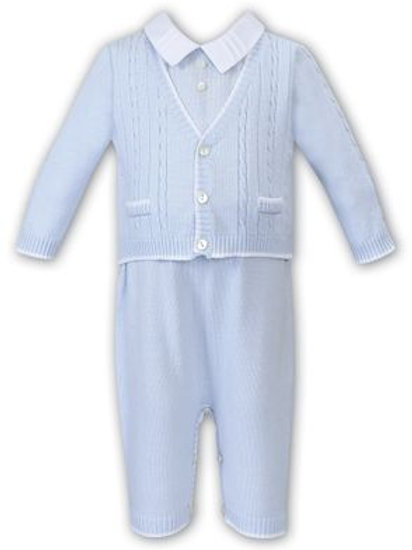Sarah Louise Smart Knitted All-in-One