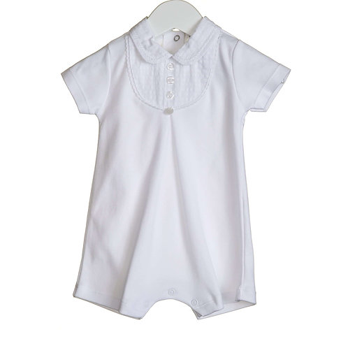 Bluesbaby White Summer Romper