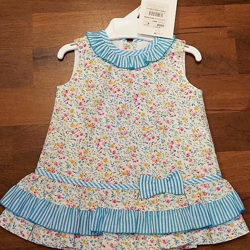 Alber Blue Floral Dress