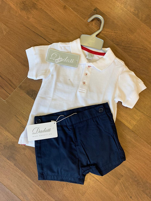Daditi Polo T-shirt and shorts set