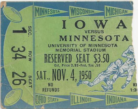 1950 @ Minnesota Ticket